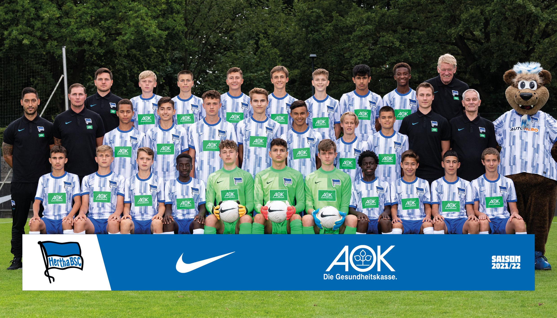 Unsere U15 der Saison 2021/22.