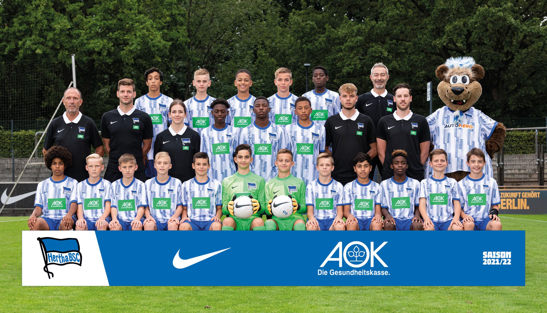 Teamfoto der U13.