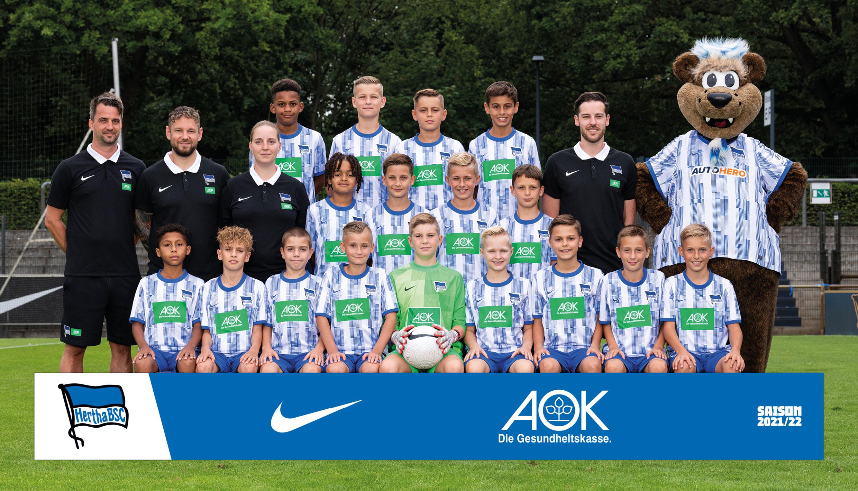 Teamfoto der U12.
