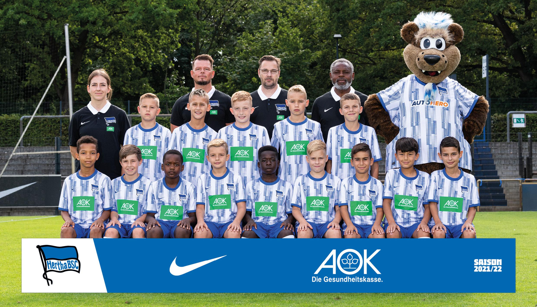 Das Teamfoto unserer U11.
