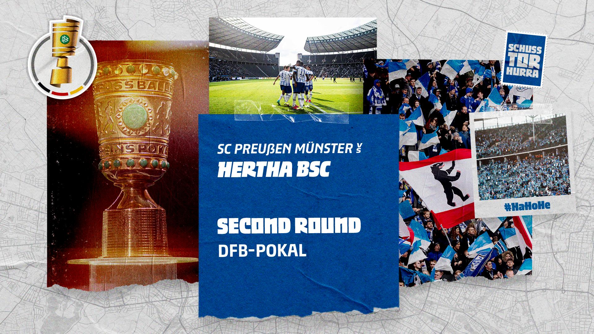 Preußen Münster vs. Hertha BSC