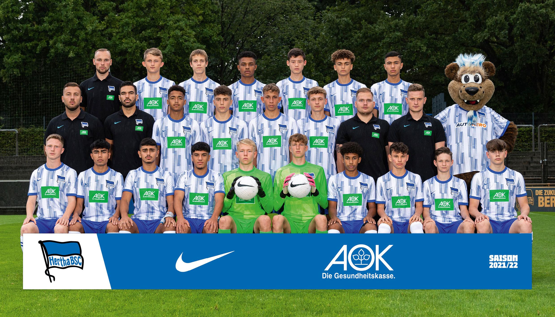 Teamfoto der U16.