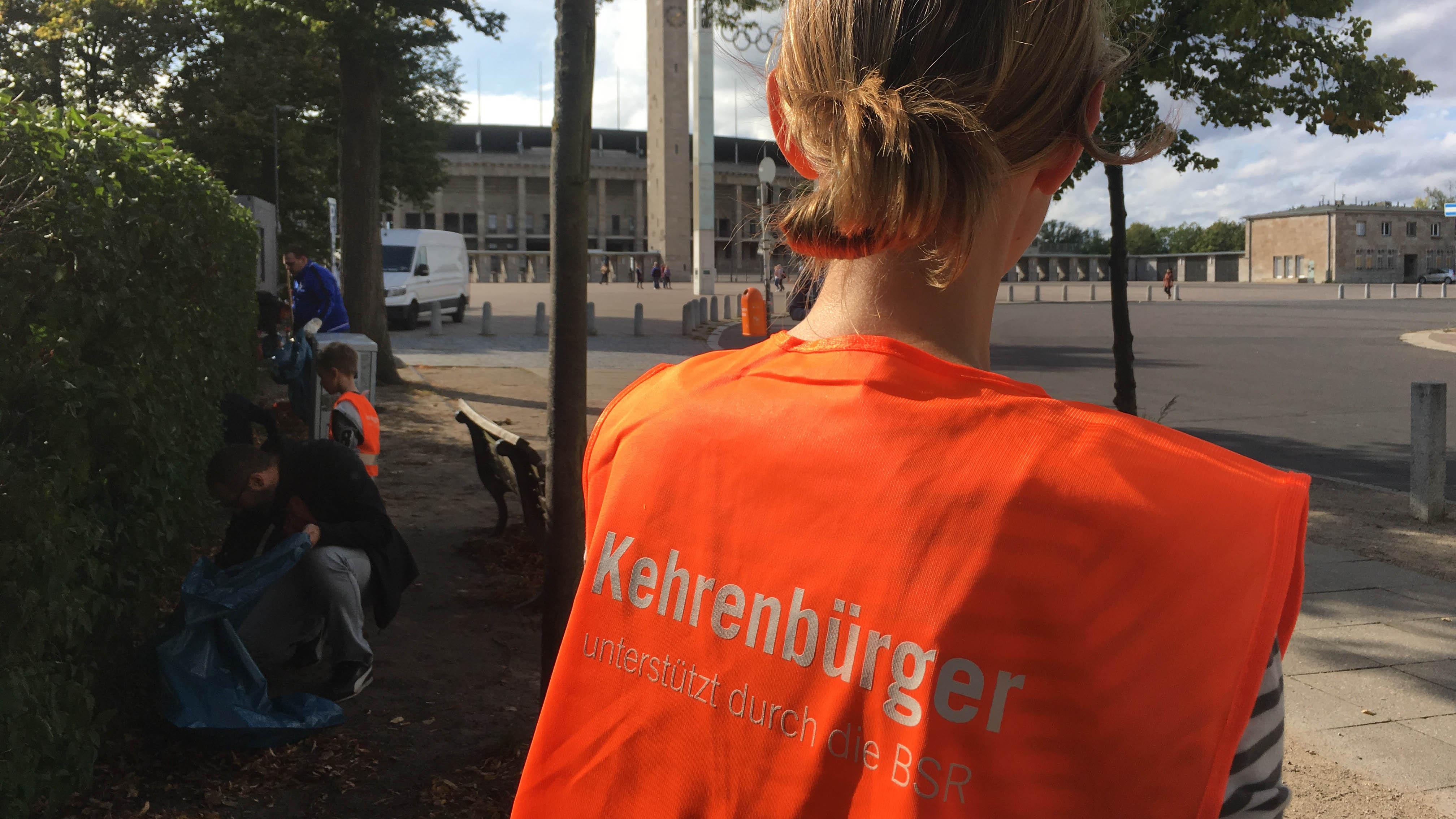 Herthaner packen beim Berliner Freiwilligentag an.
