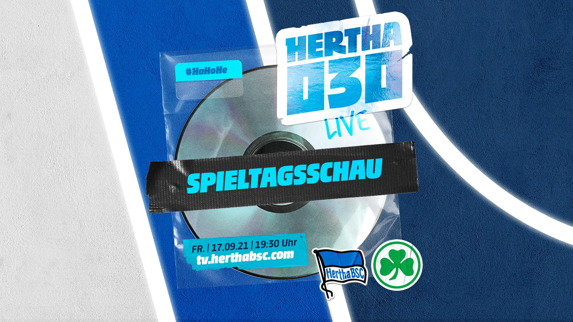 Ankündigung Hertha030 gegen Fürth.