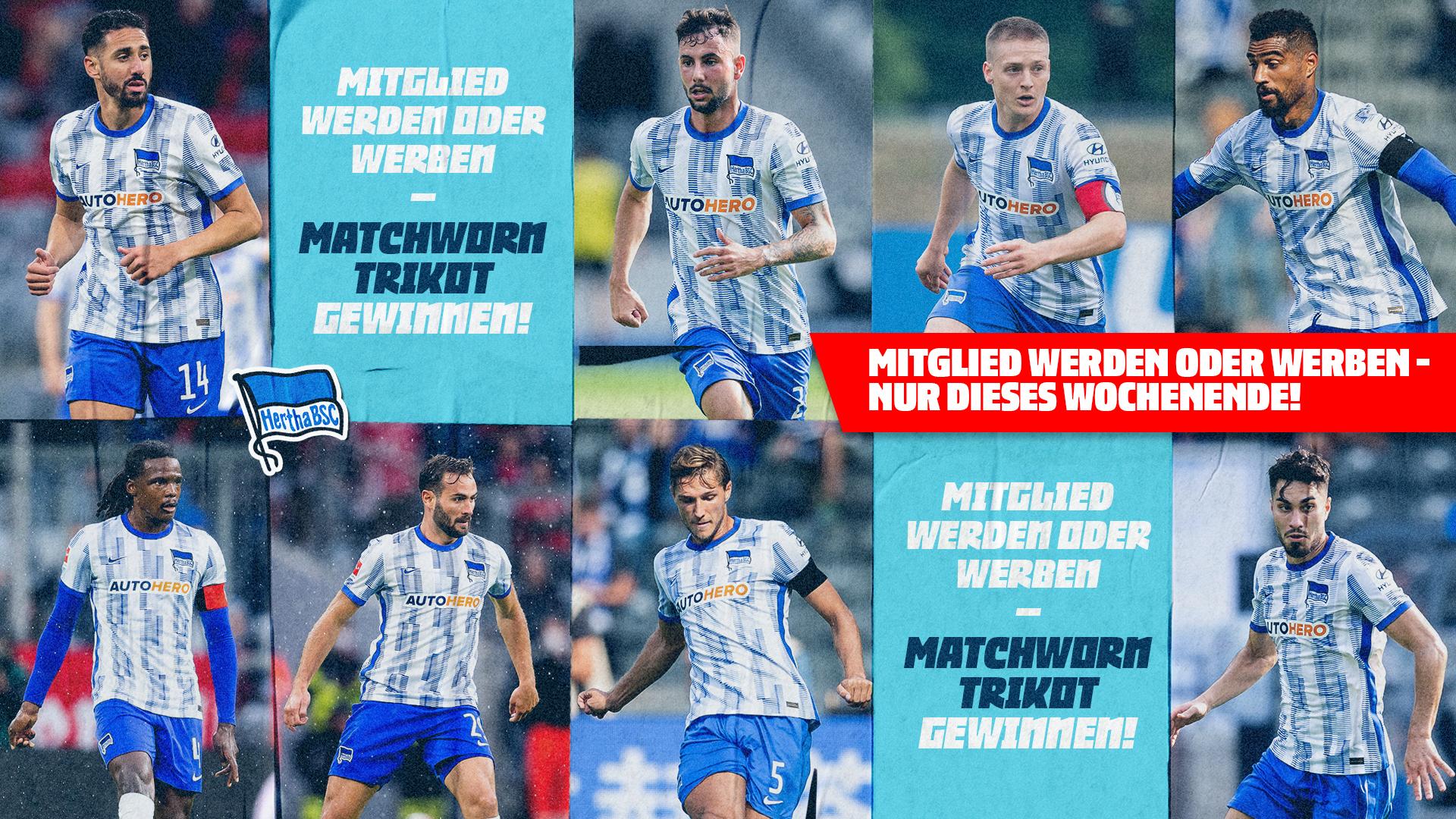 Als Neu-Mitglied Matchworn-Trikots aus dem Spiel gegen Fürth gewinnen.