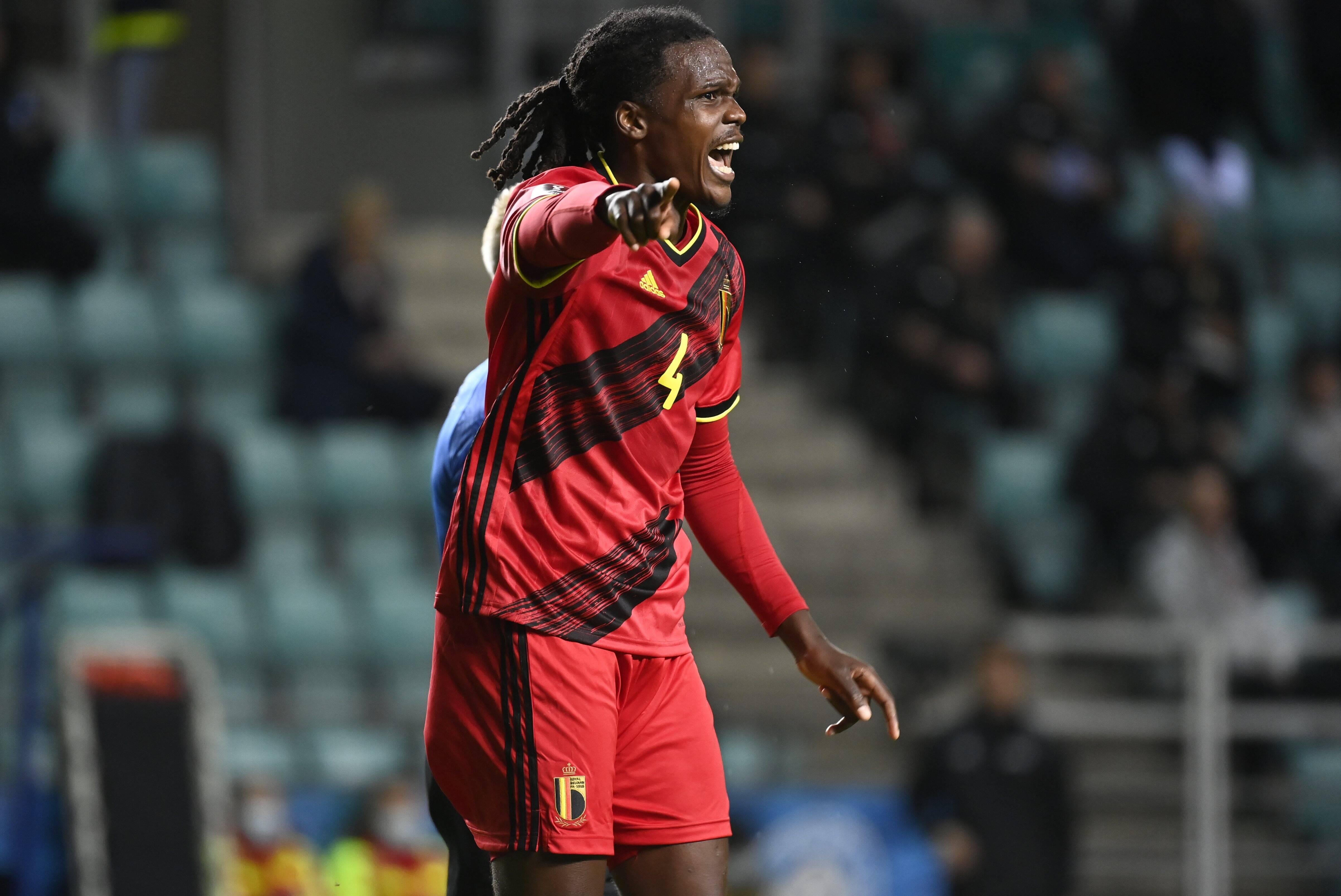Dedryck Boyata gibt auch bei der belgischen Nationalmannschaft Kommandos an seine Mitspieler.