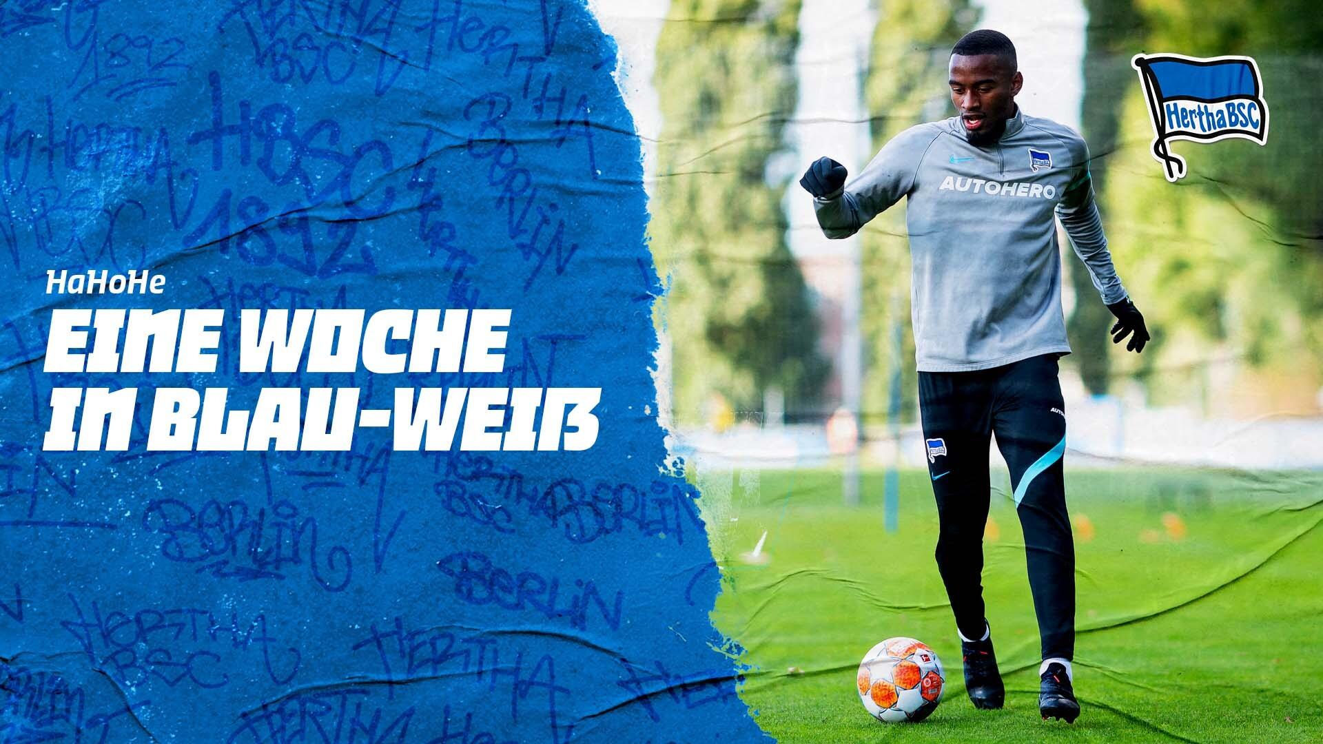 Der Thumb zur Woche in Blau-Weiß vor dem Auswärtsspiel in Frankfurt.