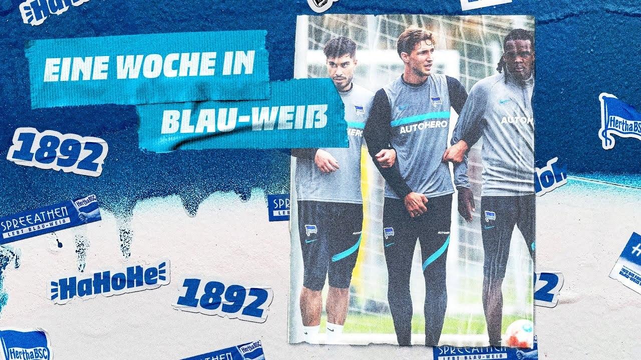 Der Thumb zur Woche in Blau-Weiß vor dem Heimspiel gegen Mönchengladbach.