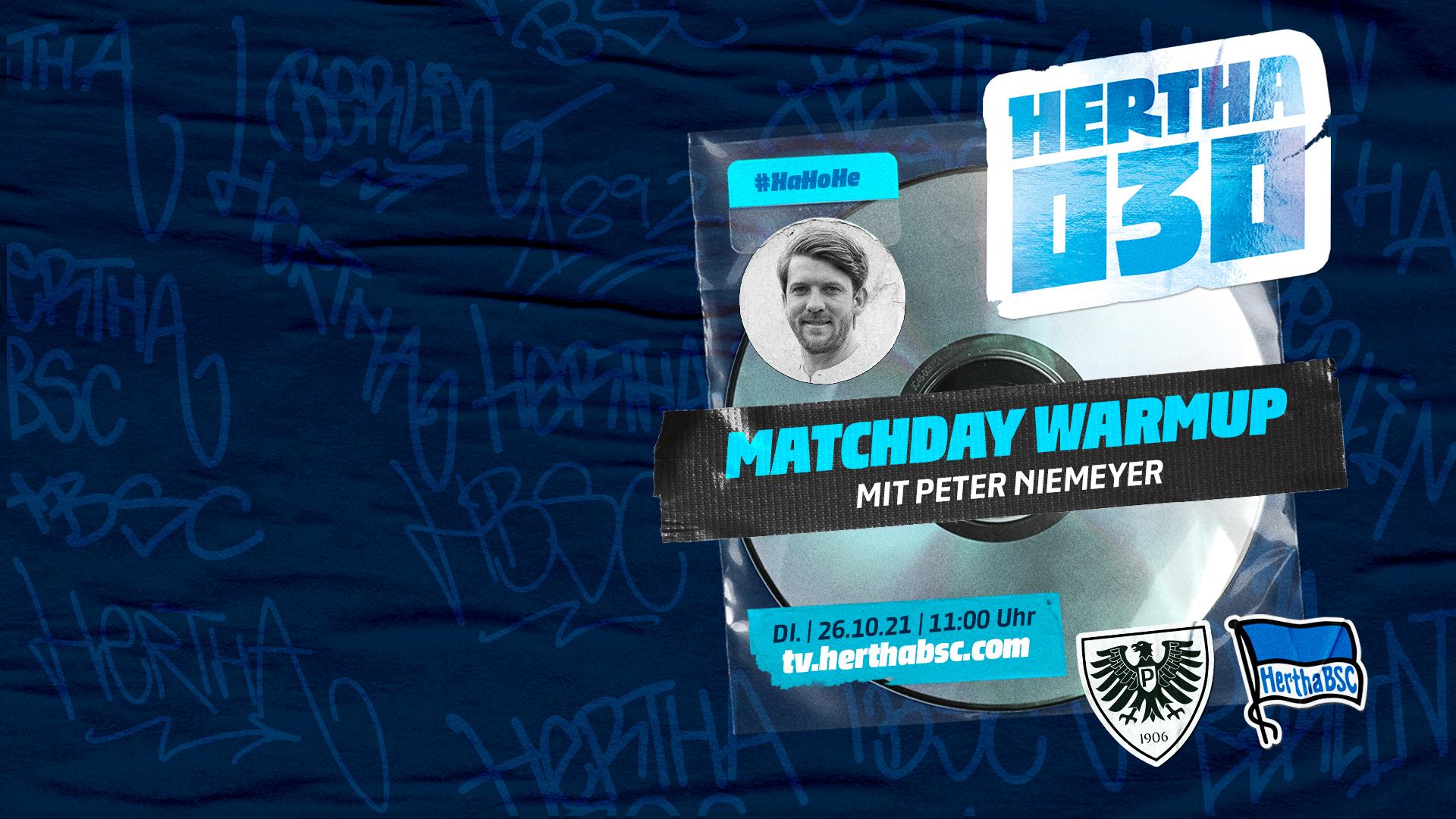 Hertha030 - Matchday Warmup SCPBSC.